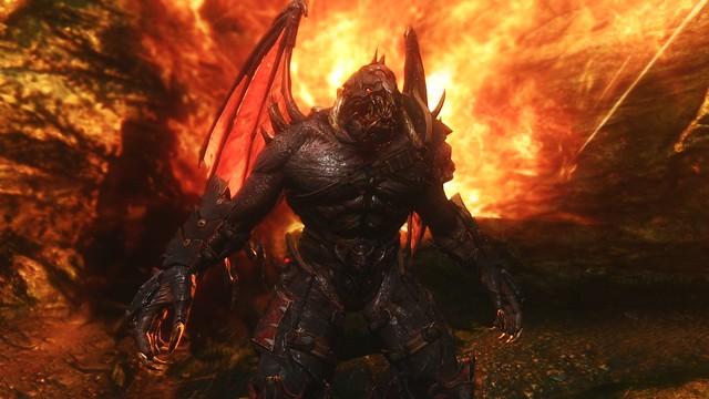 Demon werewolf skyrim - photo#16