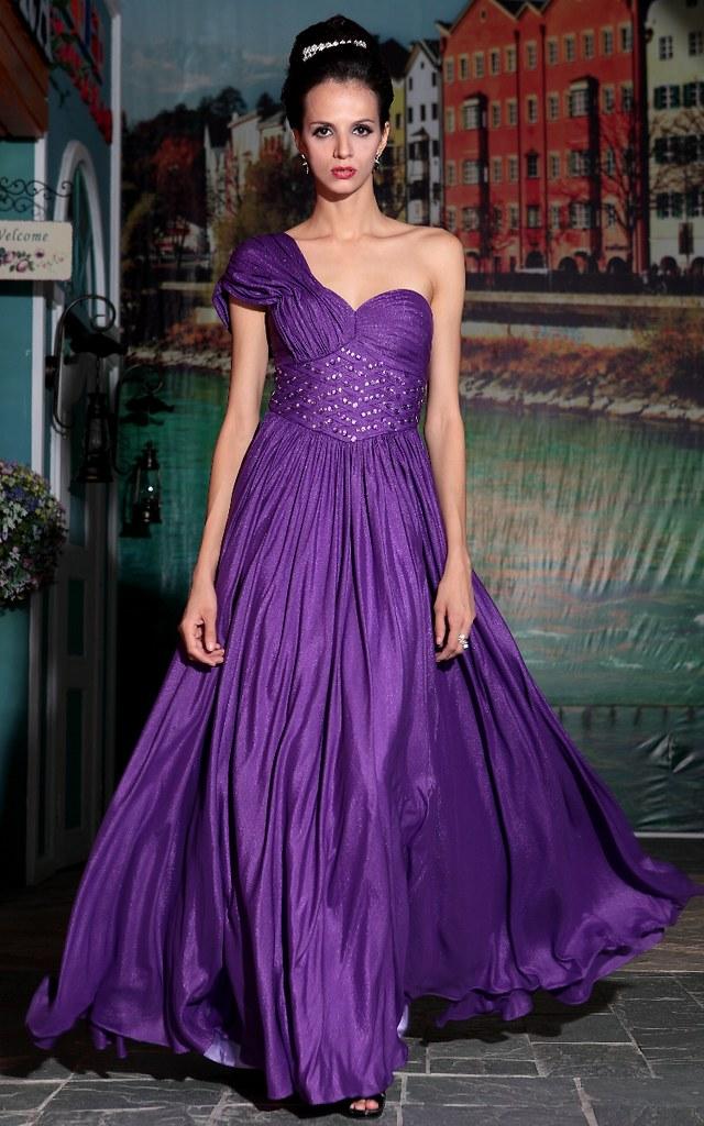 Deep Purple Dress Shoes