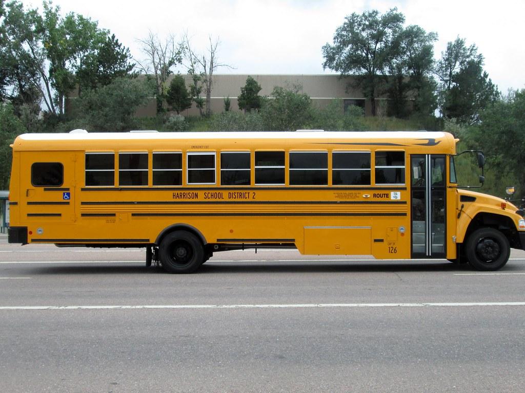 Blue Bird Bus >> Blue Bird Vision School Bus | MMTfan1 | Flickr