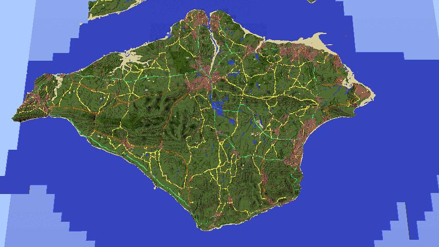 Factorio Island Map Walkthrough