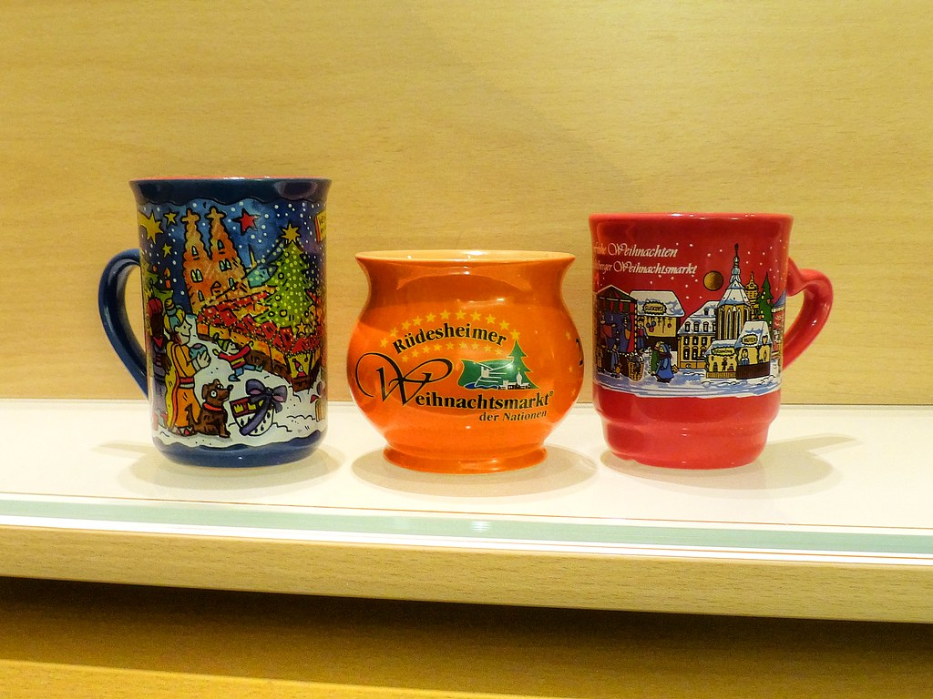 Gluhwein Mugs From German Christmas Markets 2012 My