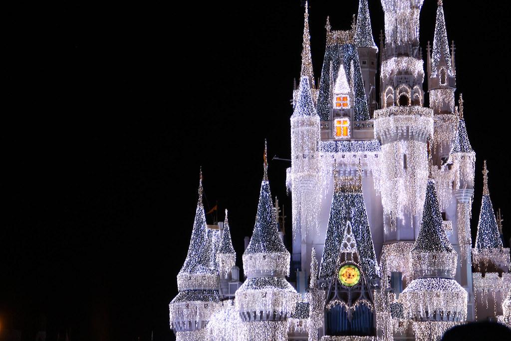 Castle Winter Wonderland DisneyWorlds Magic Flickr
