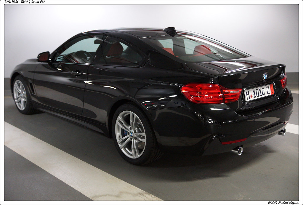 Bmw 4 Series Black Bmw 4 Series Coupe F32