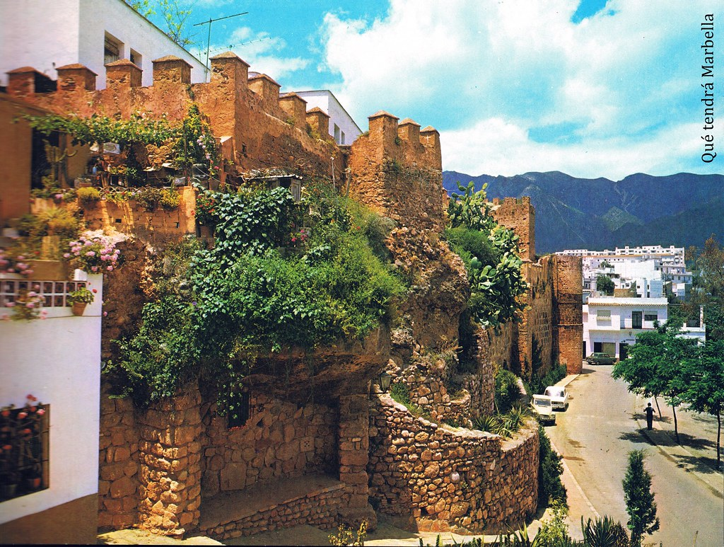05 >> Marbella en Color - Murallas de levante del castillo (años… | Flickr