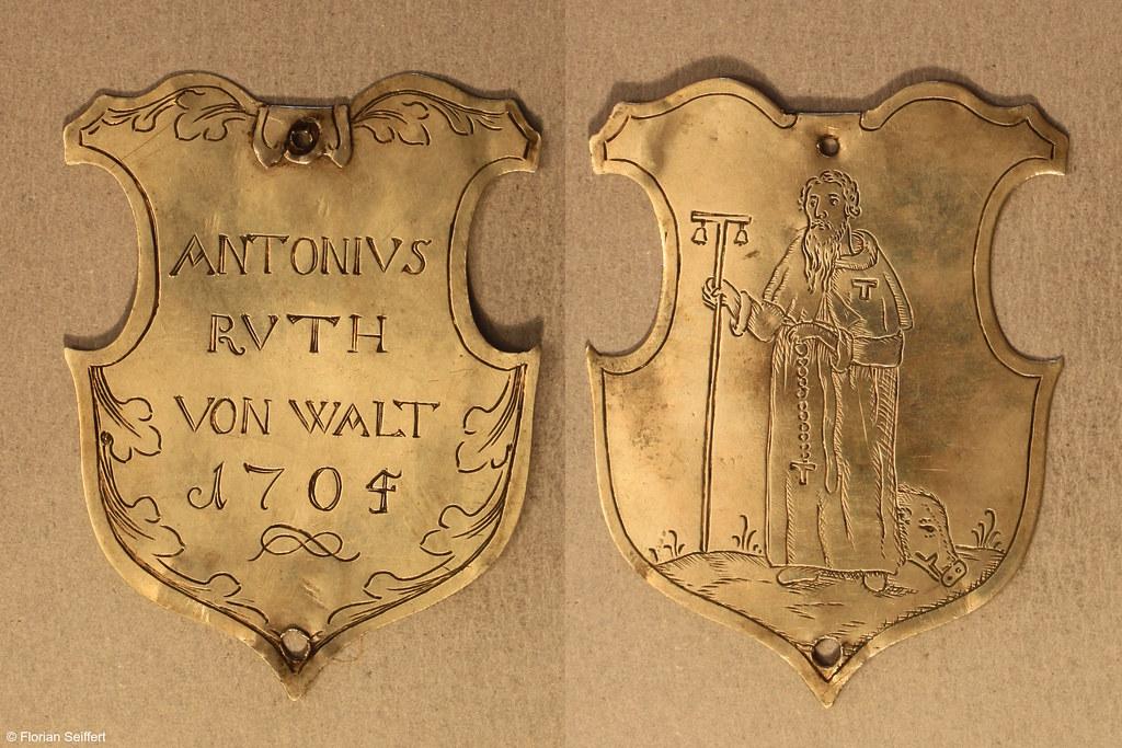 Koenigsschild Flittard von rvth von walt antonivs aus dem Jahr 1705