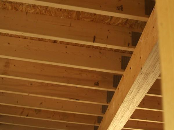 Ceiling Joists Timber Frame Wm Light Wooden Frame