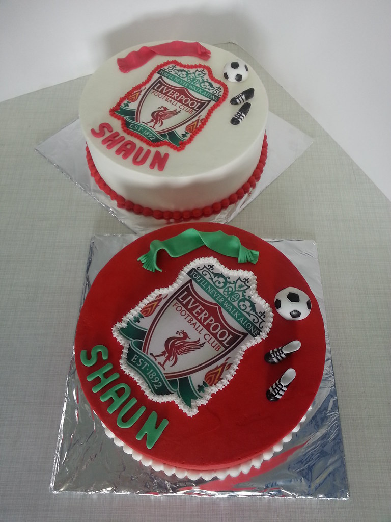 Liverpool Birthday Cake Ideas