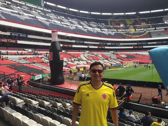Estadio azteca ciudad de m xico flickr photo sharing for Puerta 1 estadio azteca