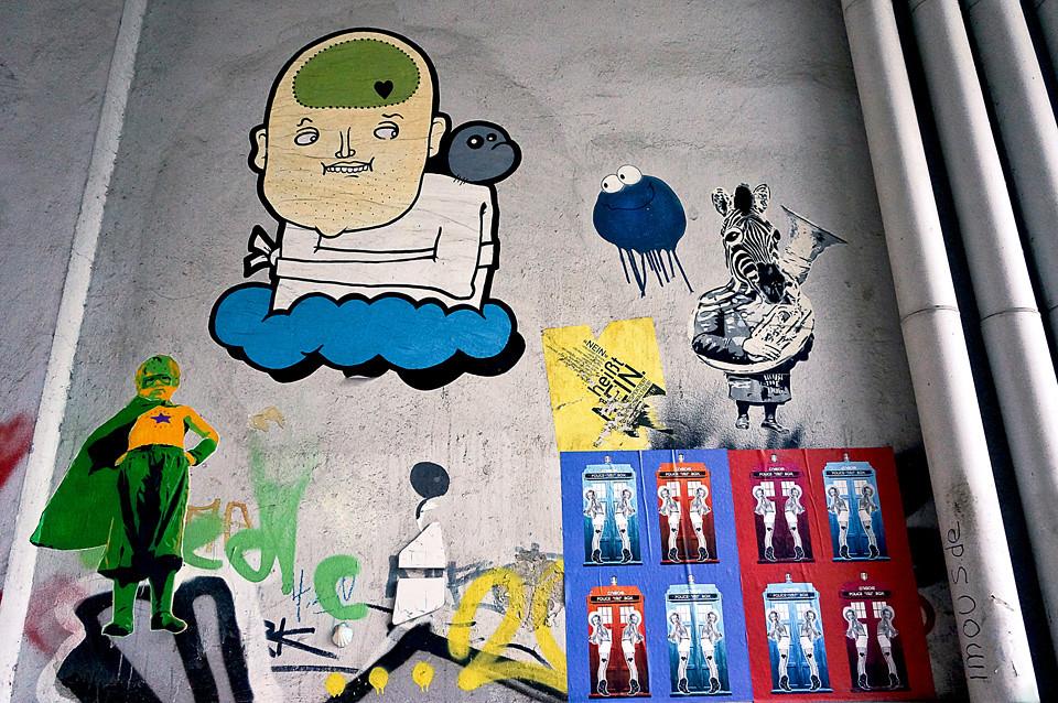 Streetart Marshal Arts