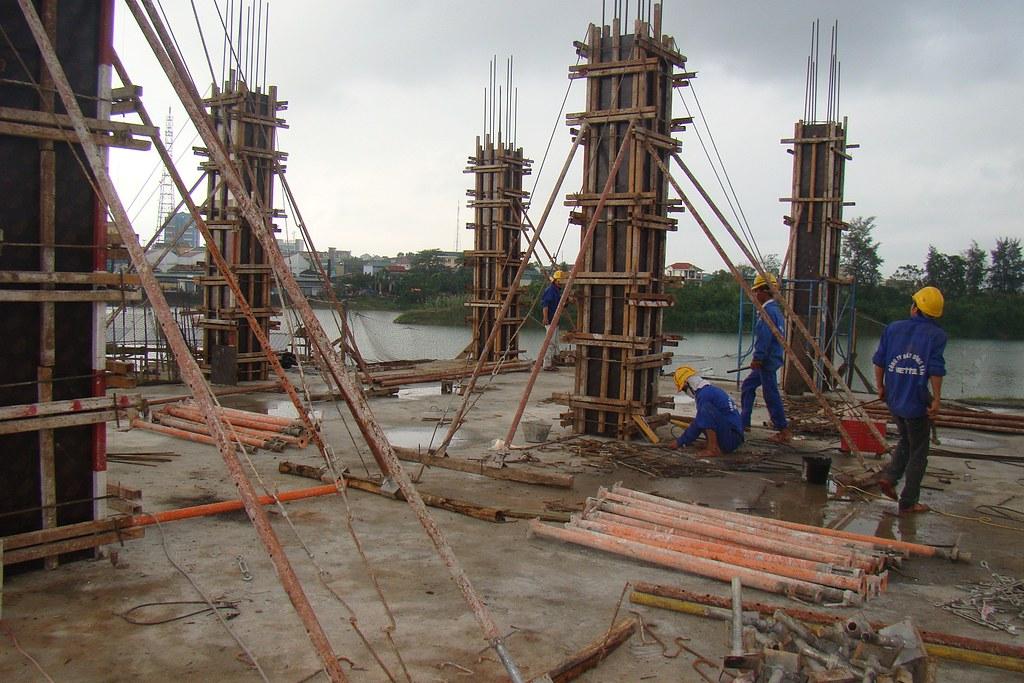 Lap Dung Lắp Dựng Ván Khuôn Cột