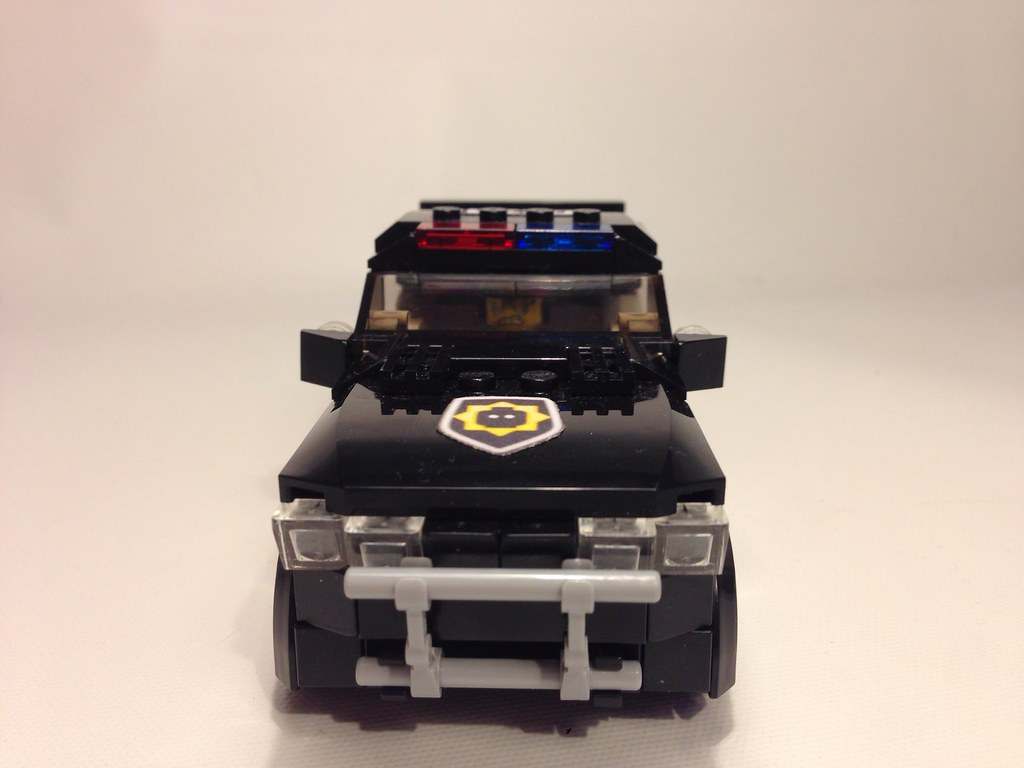 The LEGO Movie bad cop/good cop car | MBL Designs | Flickr
