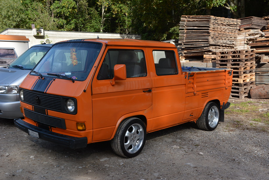 vw t3 doka 7 int vw bus monster treffen schwarzsee. Black Bedroom Furniture Sets. Home Design Ideas