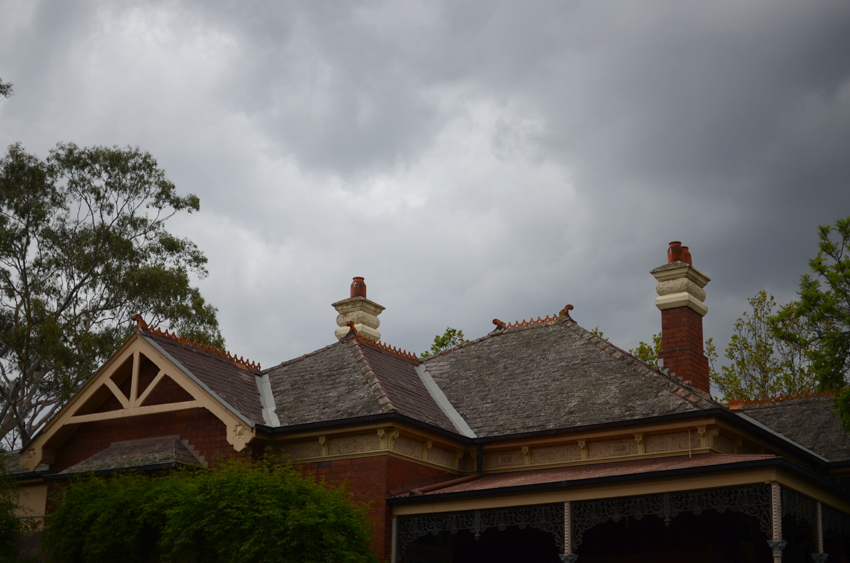 stormy roof