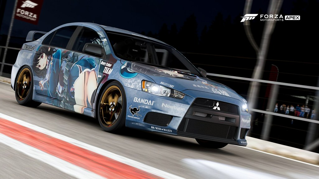 Forza Motorsport 6 Apex 2008 Mitsubishi Lancer Evolutio