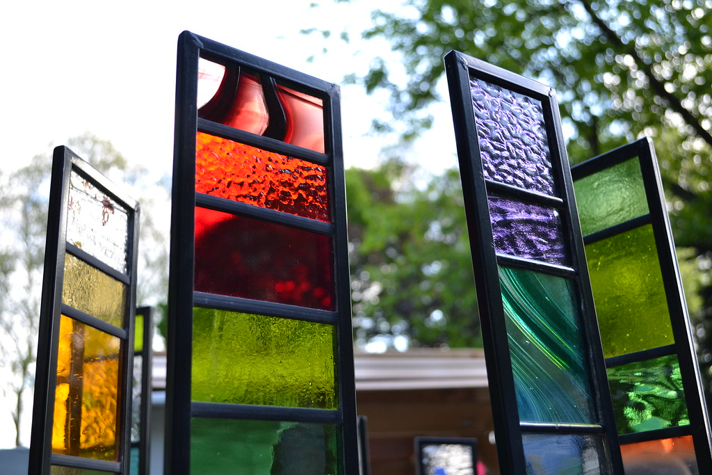 Sarah Hayhoe Garden Glass   Stained Glass Panels For The Gu2026 | Flickr