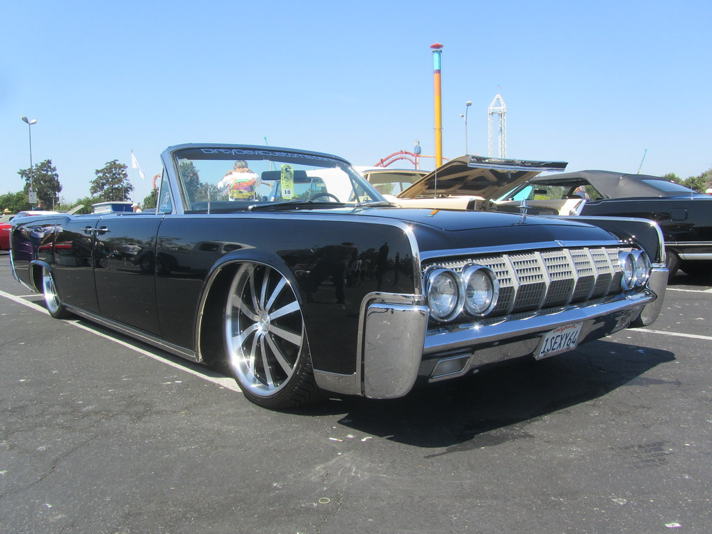 lincoln continental convertible low rider 1964 mr38. Black Bedroom Furniture Sets. Home Design Ideas