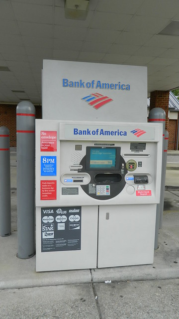 bank of america europe atm