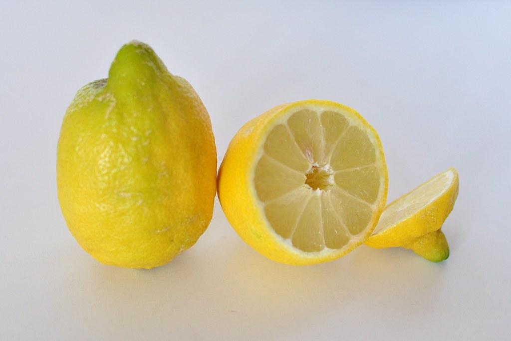 Citronové cukroví