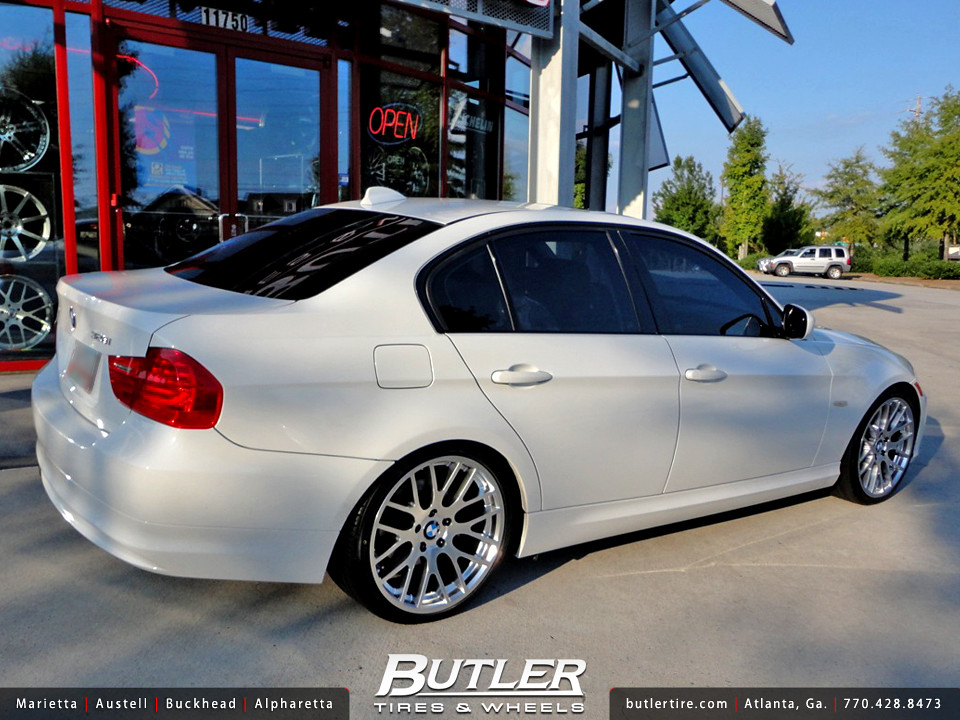 Bmw e90 328i with 19in beyern spartan wheels additional pi flickr sciox Image collections