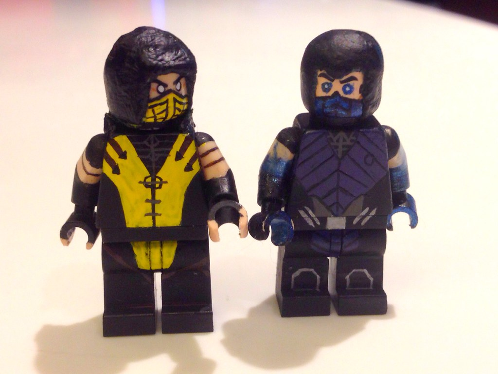 MKX: Scorpion & Sub-Zero | Two best things about MK. Also ...