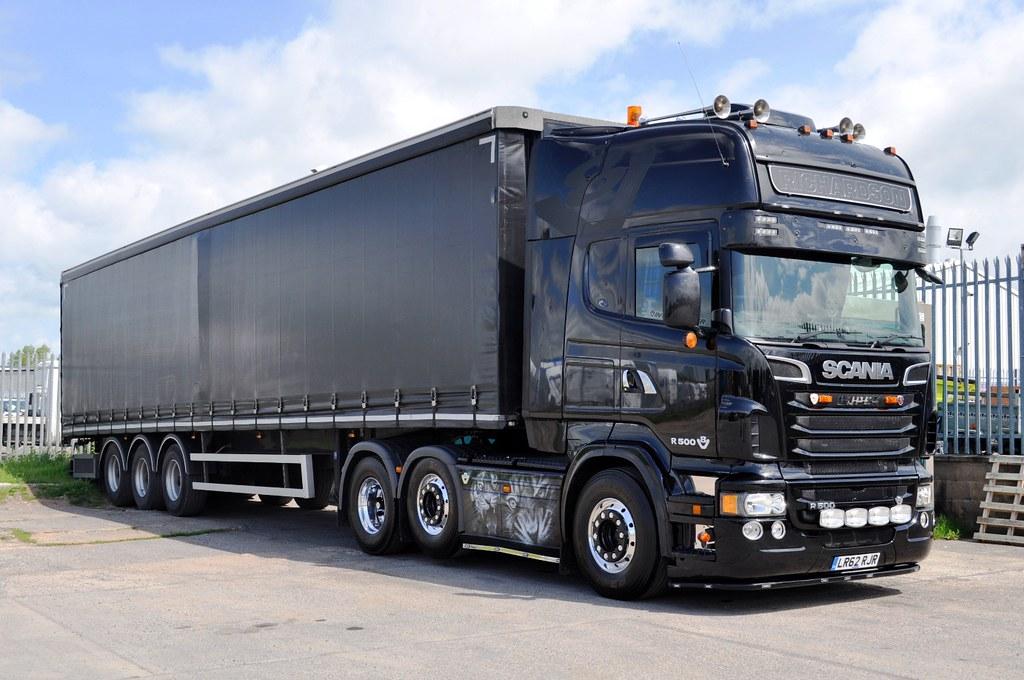 Richardson Transport S Black Tiger Scania Lr62 Rjr Flickr