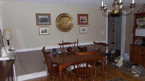 dining/reading room changeover