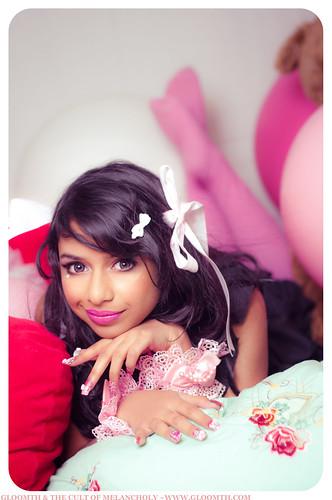 valentines lolita photoshoot