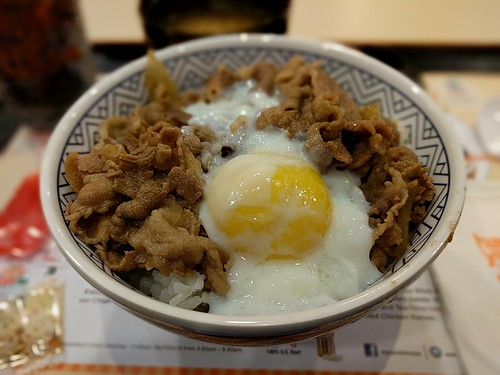 Yoshinoya Gyudon with Tamago