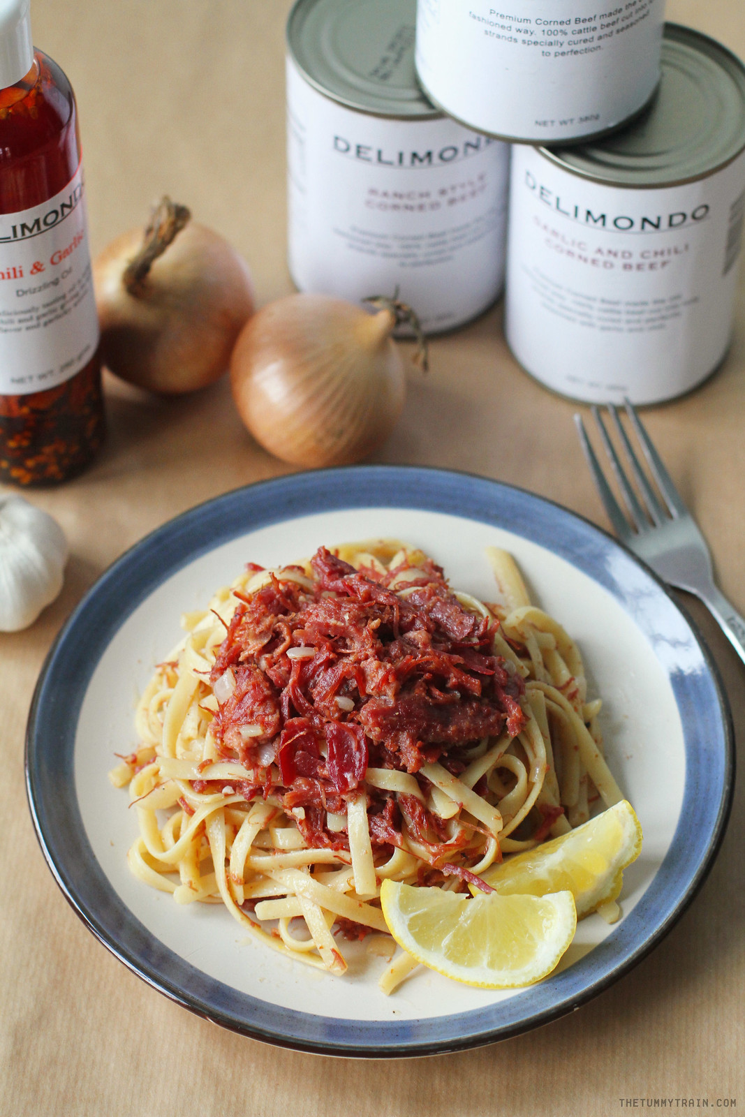 27856690902 8495a897fc h - Adding pizzaz to a classic pasta with Delimondo Corned Beef