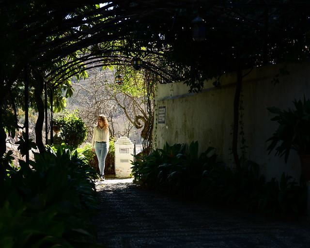 Paseando por los preciosos jardines del Carmen Victoria de Granada