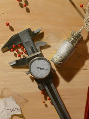 """Anaphylaxis,"" detail of calipers and albuterol"