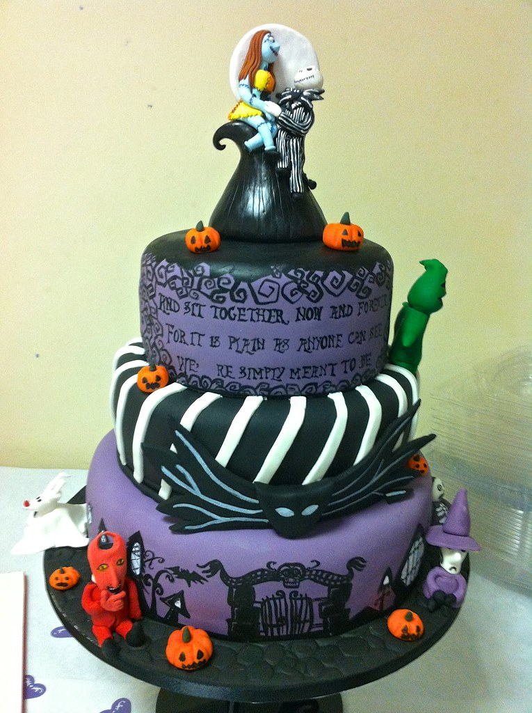 nightmare before christmas cake pans