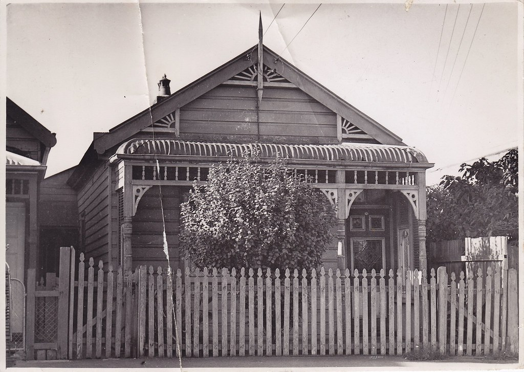 Worker S Cottage In Marrickville Sydney 1950s A