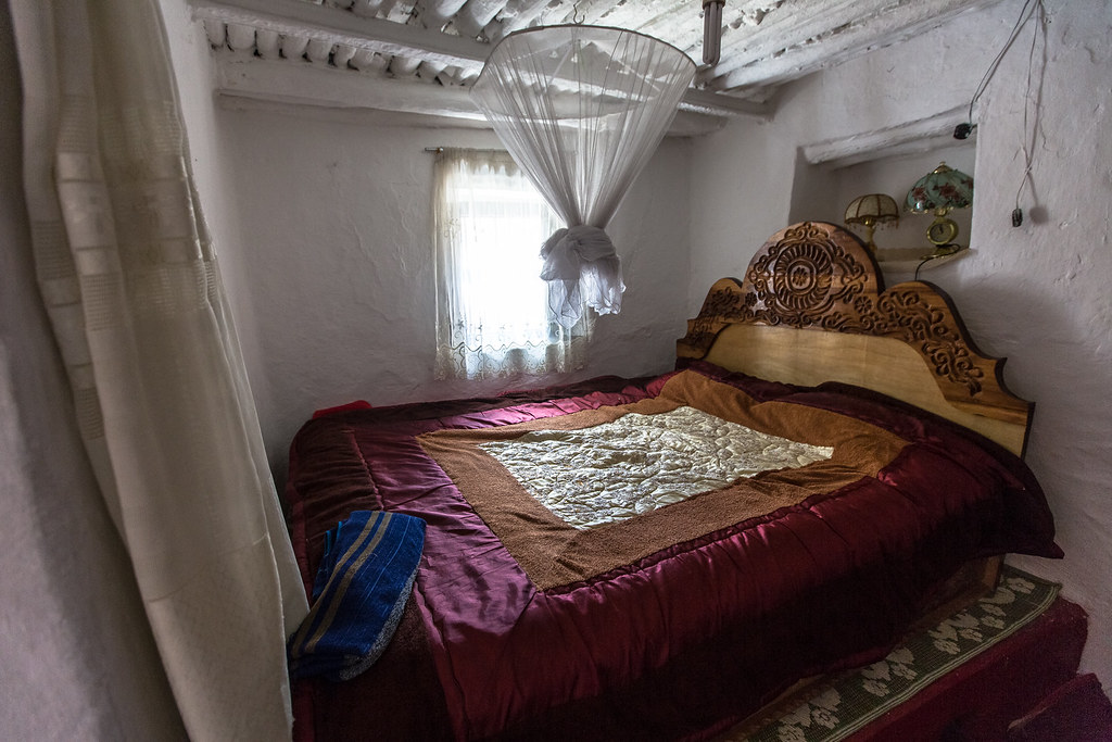 The Bedroom Inside A Traditional House In Harar Ethiopia