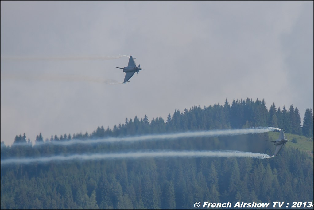 Eurofighter Typhoon Team Display , patrouille Eurofighter Typhoon Display , force aérienne autrichienne , AIRPOWER13 , Zeltweg , Austria , airpower 2013 Zeltweg