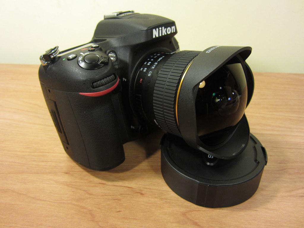 Nikon D7100 with Samyang 8mm f/3.5 Fisheye | Taken with my ...