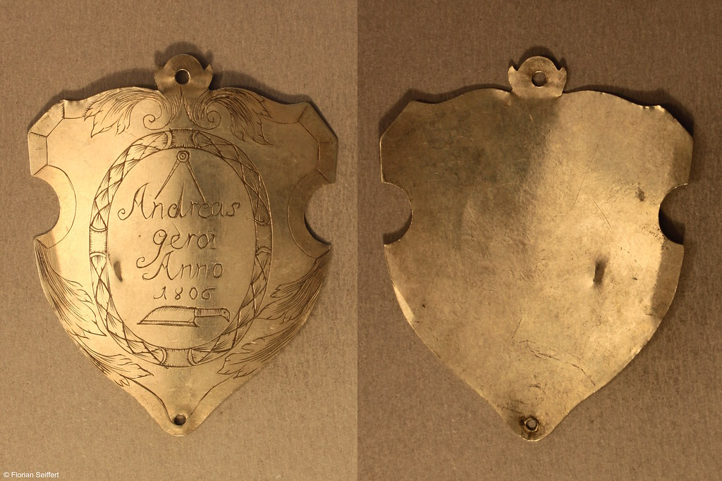 Koenigsschild Flittard von gerot andreas aus dem Jahr 1806