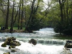 Fluß im Englischen Garten