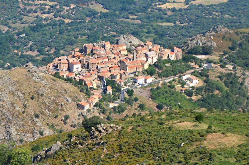 Interior town, Corsica