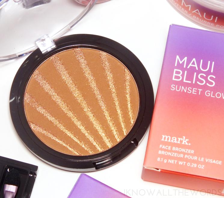 mark maui bliss sunset glow face bronzer (2)