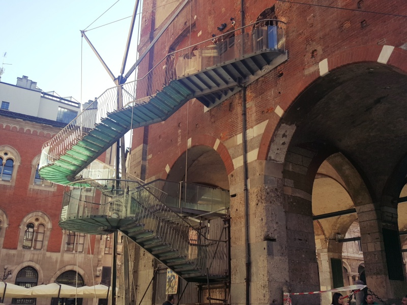 Milan staircase
