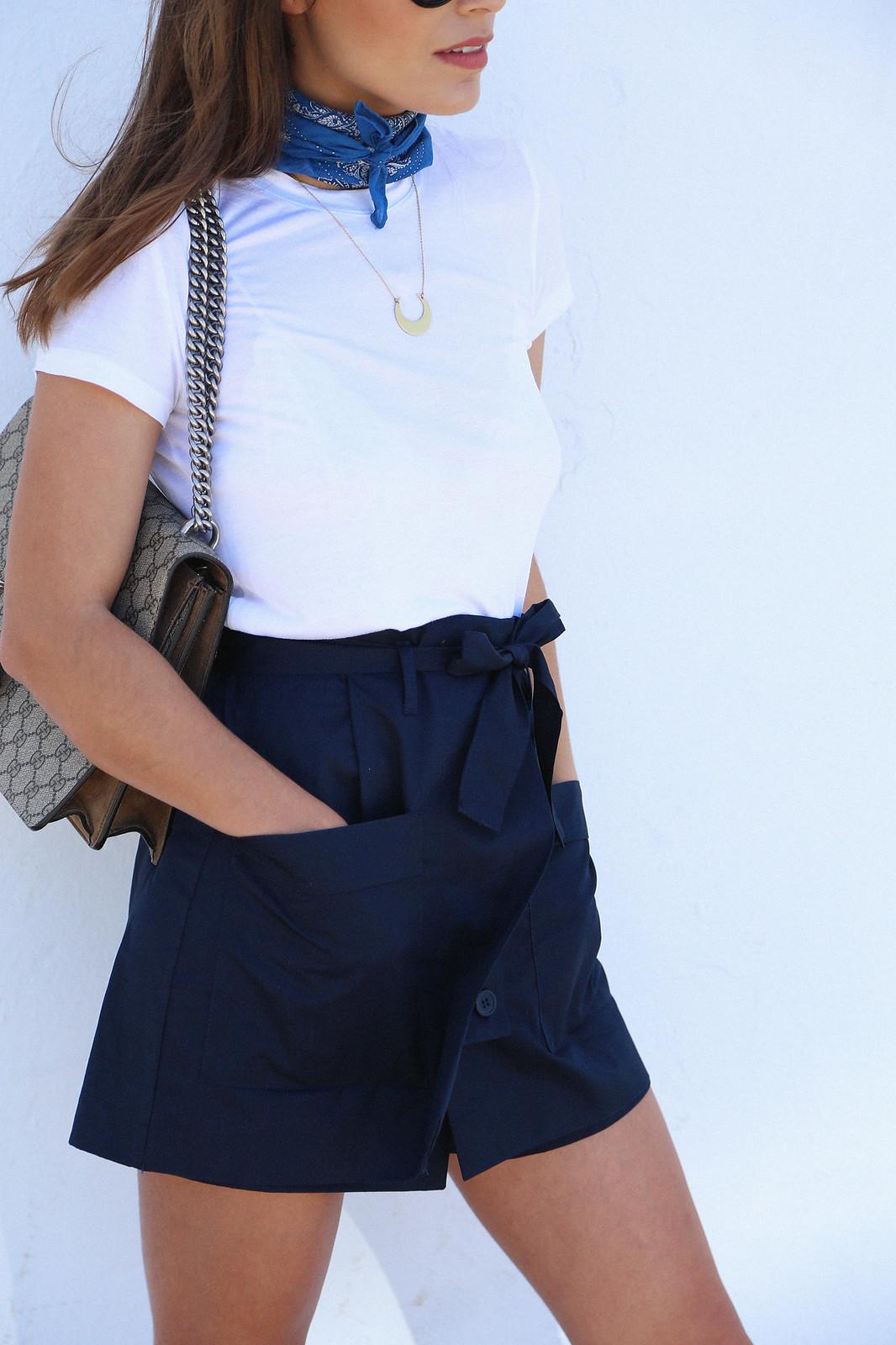 jessie chanes seams for a desire blue skort white tshirt wooden wedges sandals-11