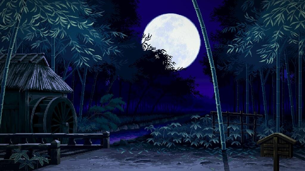 Asian Night - Pixel Art Wallpaper | Trabajos de Pixel Art ...