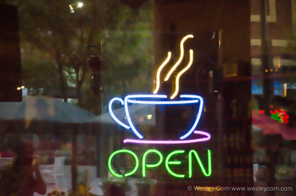 Coffee Shop Open Sign Coffee Shop Open Sign | by