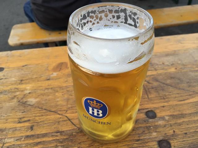 Pilsner beer - Biergarten