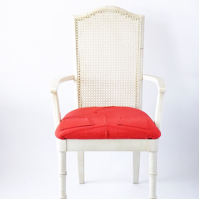 Thrifted Chair Redo
