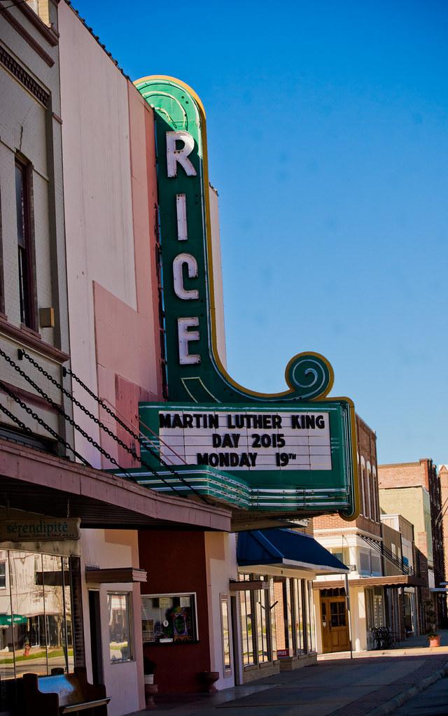 Crowley movie theatre