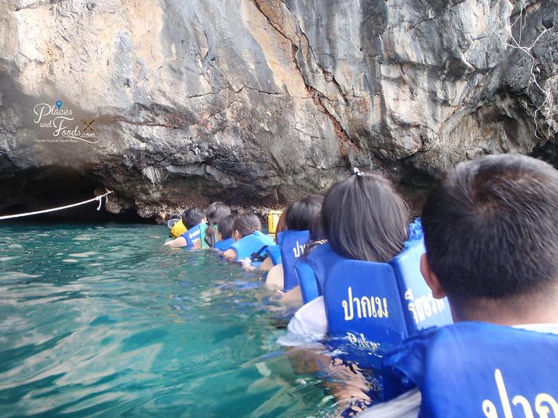 emerald cave island trang entrance