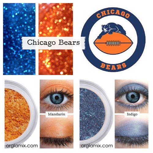 Chicago Bears Makeup Chicago