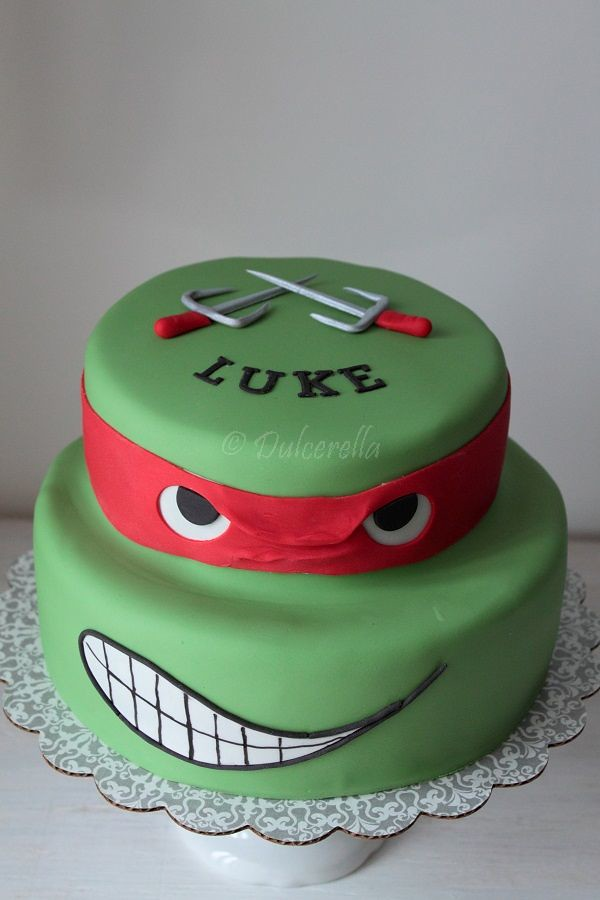 Ninja Turtle Birthday Cake Pan
